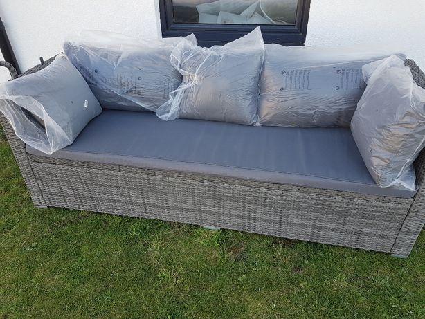 Sofa ogrodowa technorattan! Kanapa, meble ogrodowe,tarasowe na ogród