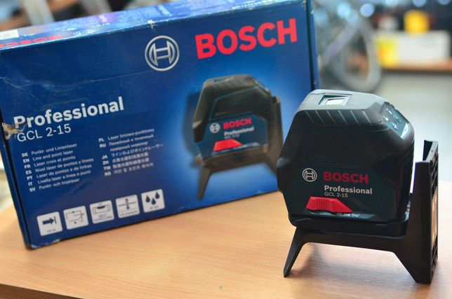 Laser krzyżowy poziomica laserowa Bosch GCL 2-15 Lombard Tarnów