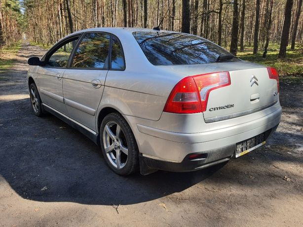 citroen C5 2.0 benzyna EXCLUSIVE BEZWYPADKOWY