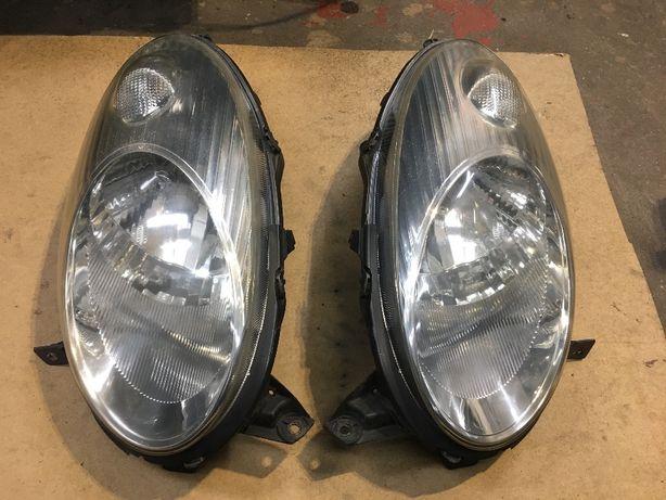 Lampy przednie Nissan Micra K12 03-07 EUROPA ORYGINALNE lampa
