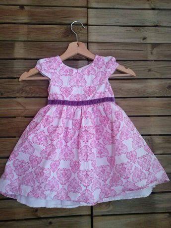 Sukienka rozmiar 98 stan bdb