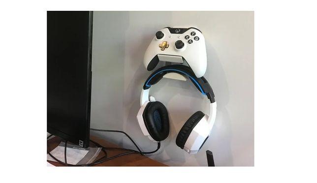 Suporte Headset e comando xbox one ou playstation ps4