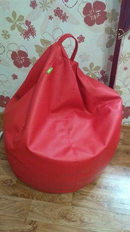 Кресло груша XL Red 218