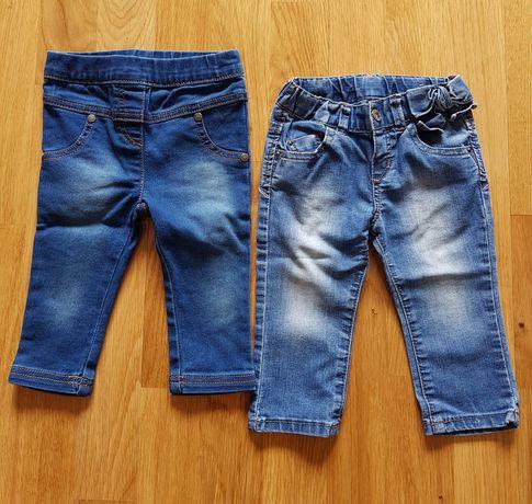 jeansy 74 zara i topomini