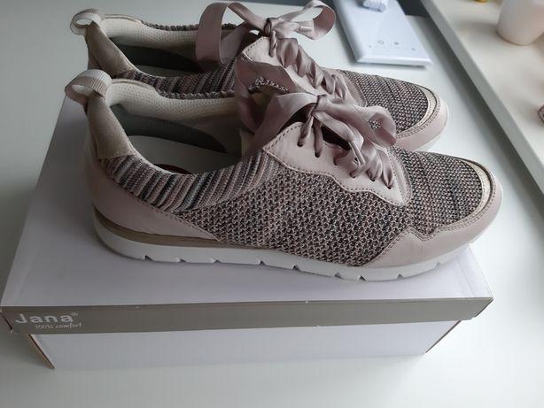 Buty ze wstążka Jana 42