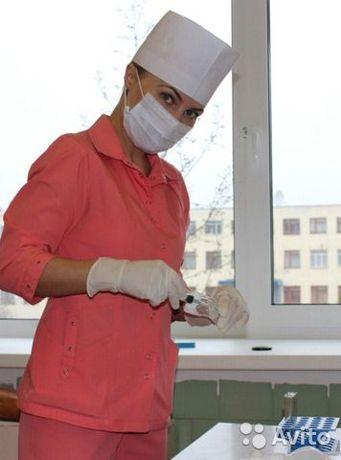 Медсестра на дому. Капельницы. Иньекции уколы
