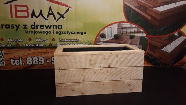 Donice z drewna donica drewniana drewniane NOWA CENA ! ! !