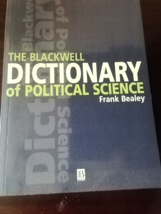 The Blackwell dictionary of political science Wrocław - image 1
