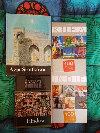 Książki o Indiach, Kubie i Azji Środkowej