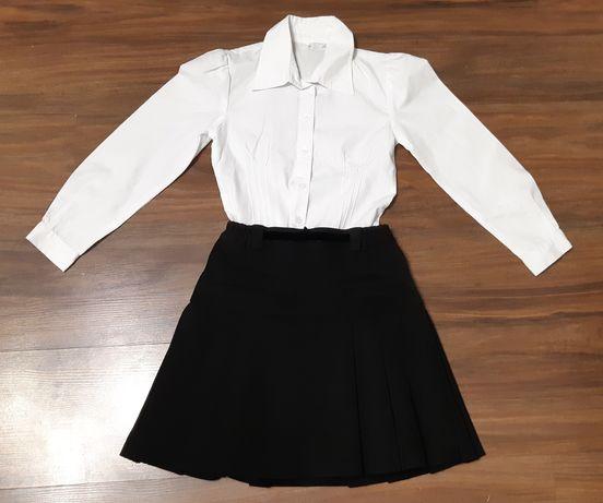 Школьная форма юбка милана блузка гольф водолазка размер 122-128