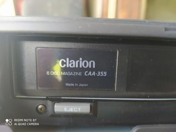 Zmieniarka na,6 płyt Clarion peugot