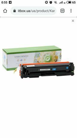 Картридж Static Control HP CLJP CF411A 2.3)