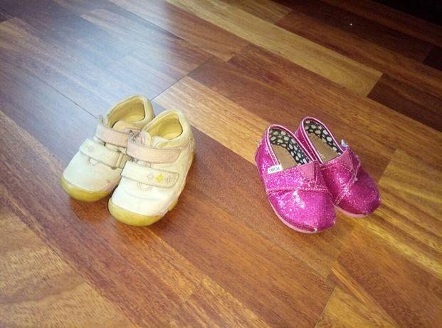 капичики toms  та кросівки elefanten для дівчинки 19 розмір