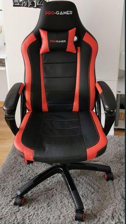 Fotel PRO-GAMER Atilla Czarno-czerwony
