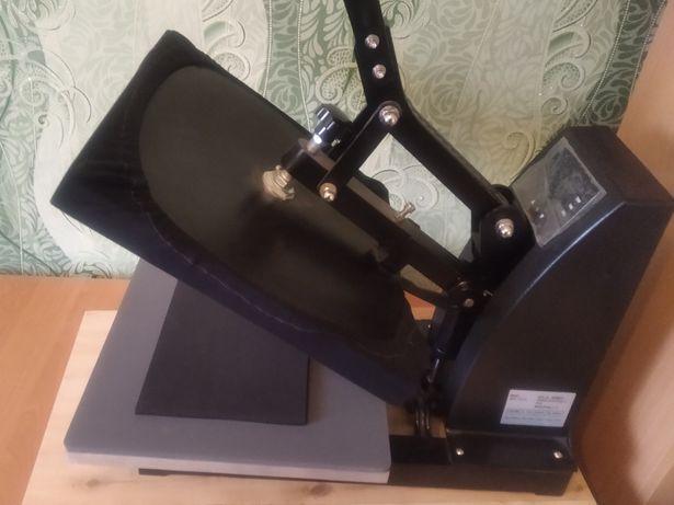 Термопресс Meikeda Flat I CE(380x380 мм) б/у, дополнительный коврик А