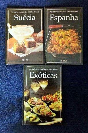 Culinária - 6 exemplares     .