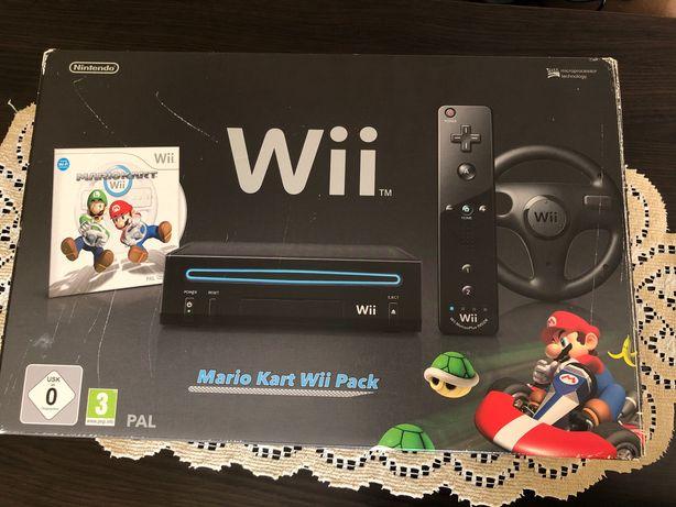 Konsola Nintendo Wii z zestawem gier