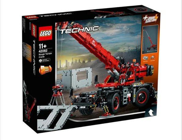 Nowe Lego Technic 42082 Dźwig - Rough Terrain Crane