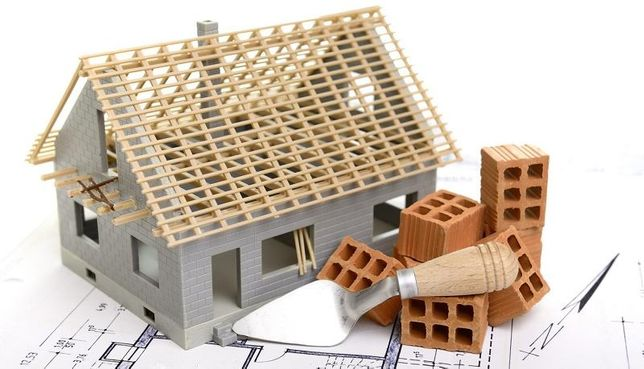 кладка шлакоблока газоблока крыша армопояс строительство
