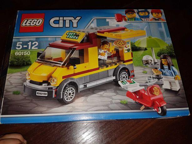 Oryginalne klocki lego city 60150 Pizzeria foodtruck