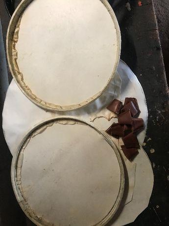 Caixas tradicionais/ peles