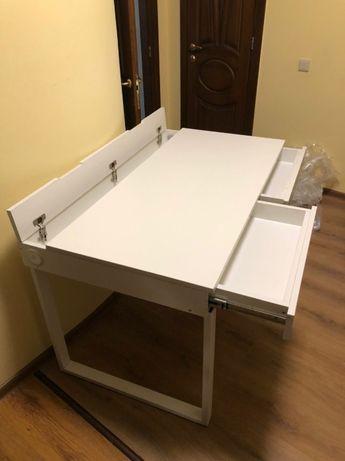 Стол офисный в наличии, письменный, компьютерный, кухонный, белый лофт