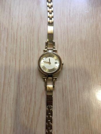 Продам модные стильные позолоченные часы-ESPRIT