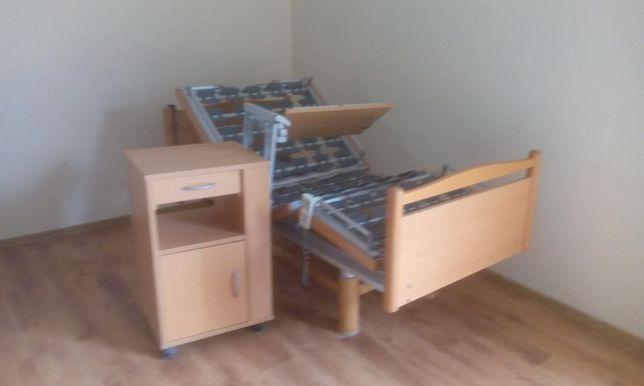 Łóżko rehabilitacyjne elektryczne 3 funkcje sterowania