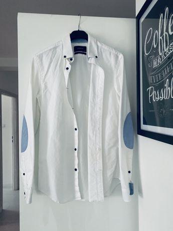 Koszula Reserved biała slim fit XS