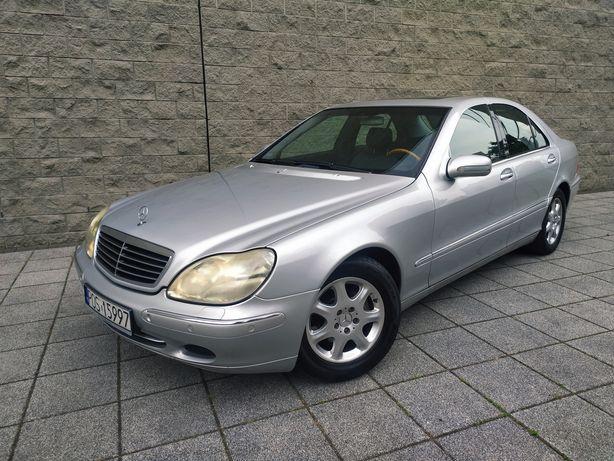 Doinwestowany Mercedes S Klasa W220 320CDI Wentylowane skóry Zamiana
