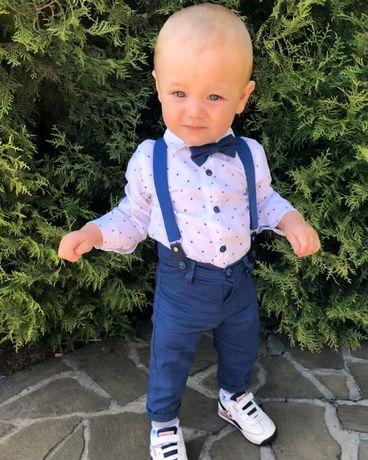 Костюм джентельмен дитячий розмір 74-80 (9-12 місяців) 1 рік