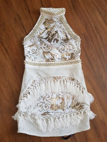 Sukienka frędzle hit blogerska
