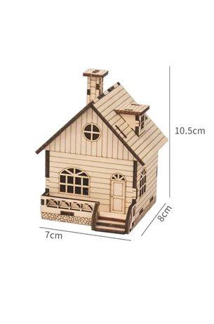 """Дерев'яний конструктор """"Музичний будиночок"""" 3D пазл"""