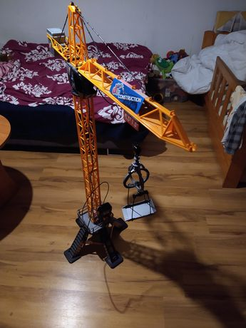 Dźwig żuraw zabawka na pilota