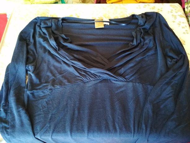 Calças grávida e camisola