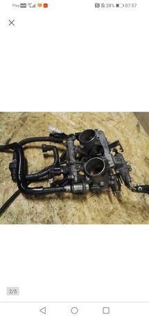 Yamaha TDM 900 przepustnice kompletne Tps wtryski komplet ABS 12 rok