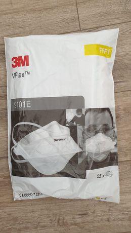 25szt maseczka wielorazowa 3M VFLEX 9101E Maska ochronna półmaska