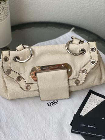 Dolce & Gabbana oryginalna torebka skora rachunek