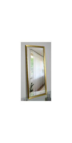 Piękne duże lustro 5201 w złotej ramie 60x170