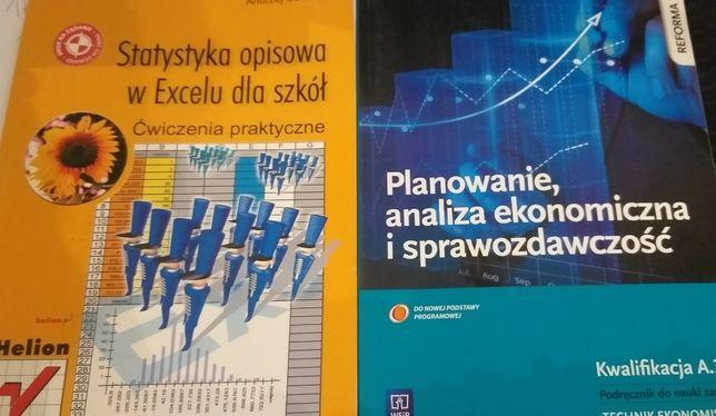 Książki do statystyki oraz analizy ekonom dla szkół ponadgimnazjalnych