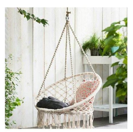 Fotel wiszący, huśtawka ogrodowa bocianie gniazdo