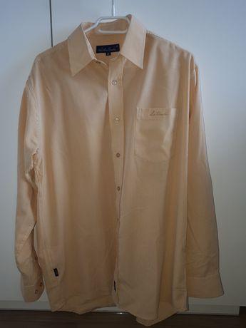 Żółta koszula męska rozmiar M