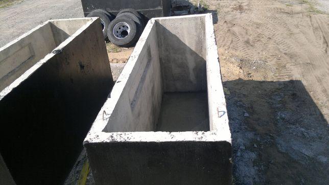 Kanał samochodowy, kanały betonowe dł 3.5m scianka 12cm SOLIDNY