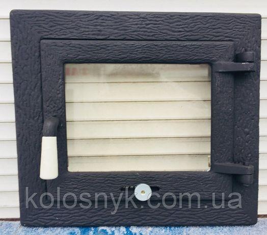 Дверцы для камина печи барбекю духовки Печная дверца со стеклом