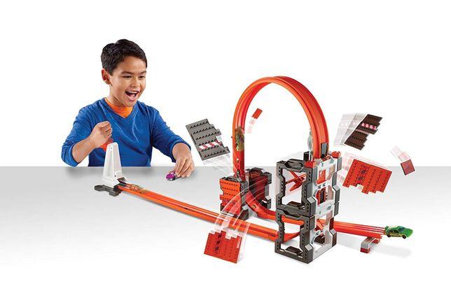Трек Hot wheels track builder ударная волна хот вилс трек машинка