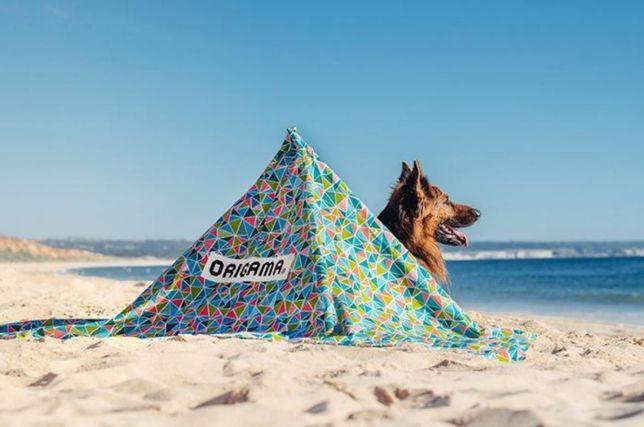 Para-vento praia ORIGAMA - Geométrica
