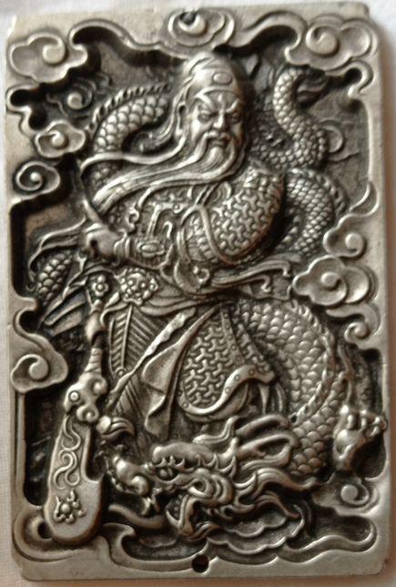 Guan Gong pendente simbologia chinesa Portes Incluídos