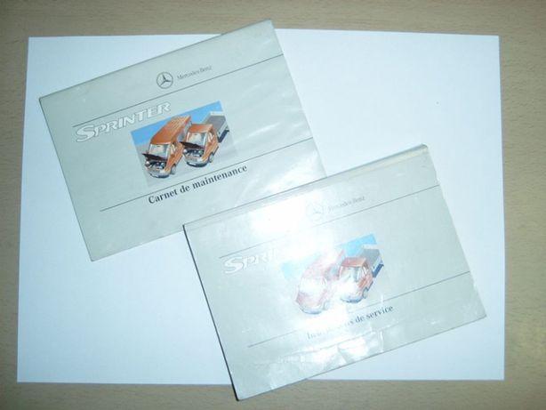 Mercedes Sprinter. Oryginalna instrukcja obsługi wraz z książką serwis
