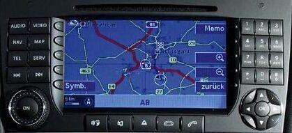 Nowość Mapa nawigacji Mercedes NTG2 V19 A B C CLK G GL M ML R VIT