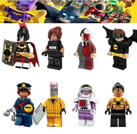 Bonecos minifiguras Super Heróis nº65 Marvel / DC Comic (compat. lego)